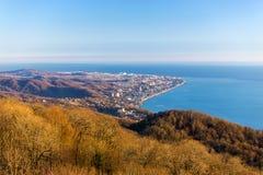 Adler-Kap Sochi Russland Lizenzfreies Stockbild