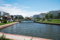 Adler, Park Russlands - 21. Mai 2017 Hotel-Sochi Adler, Krasnodar R Lizenzfreie Stockbilder