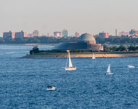 Adler Planetarium Chicago Stockfoto