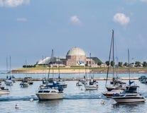 Adler-Planetarium Chicago Lizenzfreie Stockbilder