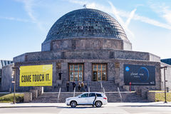 The Adler Planetarium royalty free stock photography