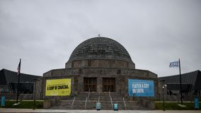 Adler Planetarium stock photography