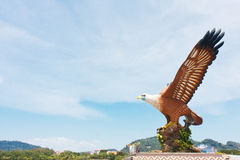 Adler quadratischer Langkawi Lizenzfreies Stockbild