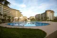 Adler Rosja, Maj, - 21, 2017 Hotelowy Sochi park Adler, Krasnodar Obrazy Stock