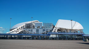 Adler Rosja, Maj, - 21, 2017: widok Fisht stadium w O Obraz Royalty Free