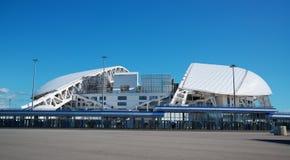 Adler, Rusia - 21 de mayo de 2017: vista del estadio de Fisht en el O Imagen de archivo libre de regalías
