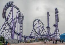 ADLER, SOCHI, RÚSSIA - 23 de março de 2018: Parque de Sochi Foto de Stock Royalty Free