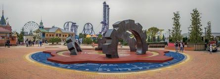 ADLER, SOCHI ROSJA, Marzec, - 23, 2018: Sochi park fotografia royalty free