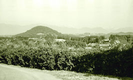 Adler umgibt im Oktober 1971 Lizenzfreies Stockfoto