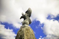 Adlerdenkmal Stockfotos