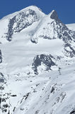 Adlerhorn und Rimpfischhorn Stockbilder