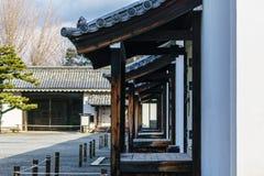 Adlig-Schutz von Ninomaru-Palast in Nijo-Schloss lizenzfreie stockfotos