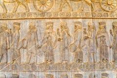 Adligentlastungsdetail Persepolis Lizenzfreie Stockfotografie