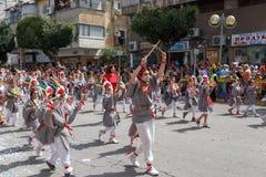 Adloyada Holon. Масленица Purim. Израиль стоковая фотография rf