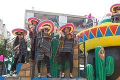 Adloyada Holon. Purim Carnaval. Israël stock foto's