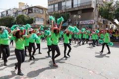 Adloyada Holon. Purim Carnaval. Israël Royalty-vrije Stock Afbeelding