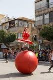 Adloyada Holon. Purim Carnaval. Israël royalty-vrije stock fotografie