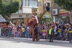 Adloyada Holon. Purim-Karneval. Israel Stockfoto