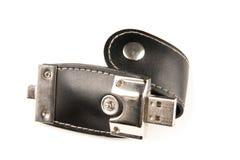 Adminículo elegante del USB foto de archivo