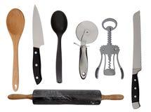 Adminículos de la cocina Fotos de archivo libres de regalías