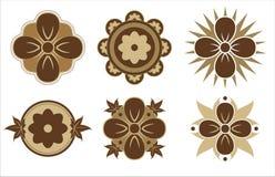 Adminículos de la flor stock de ilustración