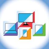 Adminículos electrónicos Fotos de archivo libres de regalías
