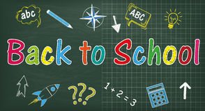 A administração da escola de volta à escola Imagens de Stock Royalty Free