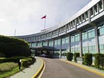 A administração de aeronáutica civil no aeroporto de Taipei Songshan, MOTC Imagens de Stock Royalty Free