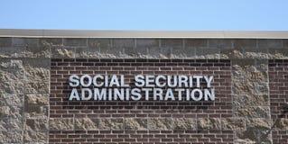 A administração de segurança social imagens de stock royalty free