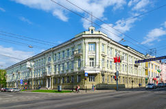 Administracja budynek, Gomel, (poprzedni Vilna Commercial Bank) Fotografia Stock