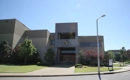Administracja budynek przy Południowo-zachodni Tennessee college społecznym obraz stock