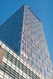 Administracyjni budynki z niebieskim niebem Obrazy Stock