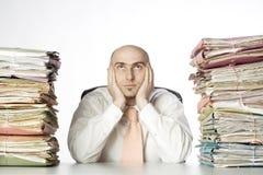 Administrador con exceso de trabajo Imagen de archivo