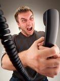 Administrador de oficinas enojado Fotografía de archivo libre de regalías