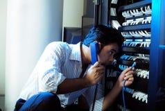 Administrador del sistema IT Fotografía de archivo