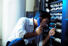 Administrateur de système TI Photographie stock