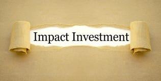 Administratie met effectinvestering stock afbeelding
