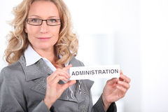 Administration Stock Photography