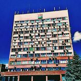 Administration architecture. Russian administration house Royalty Free Stock Images