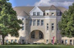 Administration building, Bethel College, Kansas Stock Images