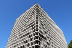 Administration building, Los Angeles Stock Image