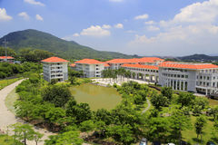 Administration institute. Xiamen school of administration, perhaps is the most beautiful administration institute in the world royalty free stock image