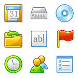 Administration web icons Stock Photo