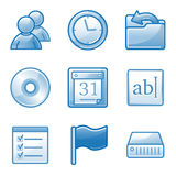 Administration web icons Royalty Free Stock Photography