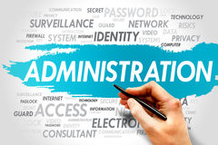 Administration Stock Image