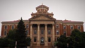 Administrationsbyggnad av universitetet av Manitoba arkivfoton