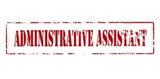 Administrativ assistent Arkivfoton