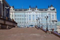 Administrativ byggnad av den Bolshoi teatern moscow Fotografering för Bildbyråer