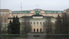 Administrativ byggnad Velikiy Novgorod, Ryssland arkivfilmer