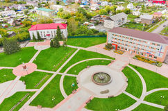 Administrativ mitt av Golyshmanovo Royaltyfri Fotografi